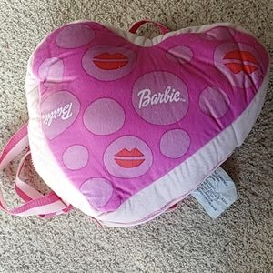 Barbie sleeping bag with heart shaped case
